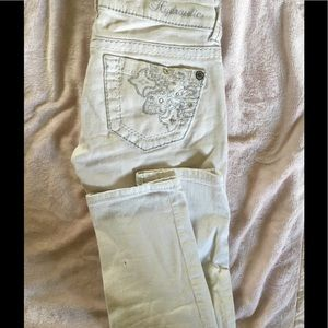 Hydraulic Denim - 🎈 5 for 25$ White skinny capris size 0 cute butt