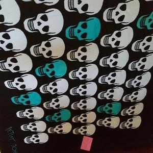 Betsey Johnson Other - Betsey Johnson skull beach towel