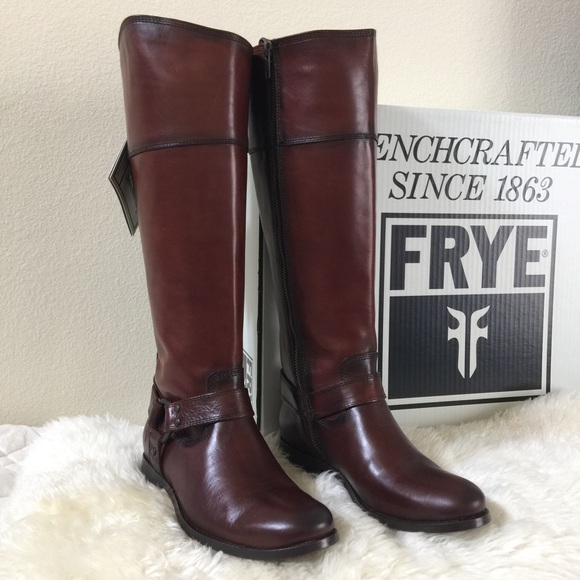 Frye Shoes | Sale Melissa Harness Inside Zip Boots | Poshmark