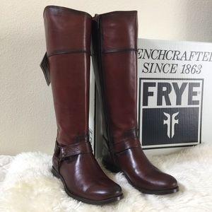 Frye Shoes - Frye Melissa Harness Inside Zip Boot
