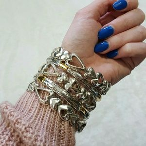 Brighton Jewelry - Brighton Heart Bangle