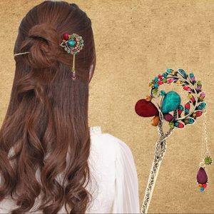 Accessories - Jeweled Hair Stick