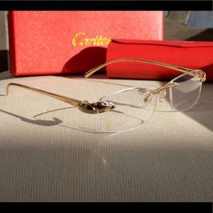 Cartier Accessories - Cartier Custom Panther Series 2012 Buffalo Glasses