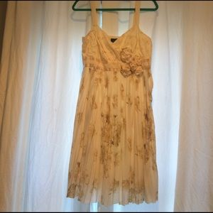 NWT  ANTHROPOLOGY dress.   Off-white