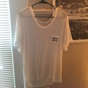 Brandy Melville embroidered tshirt