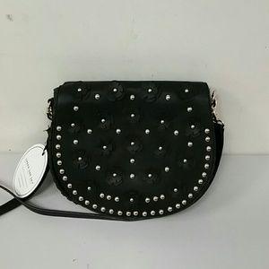 NWT under one sky black shoulder bag