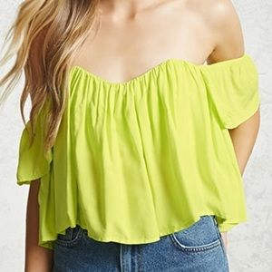 Draped Off-The-Shoulder Top