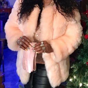 Jackets & Blazers - Pink pink faux fur jacket