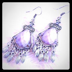 Jewelry - Vintage Dangle Chandelier Earrings!
