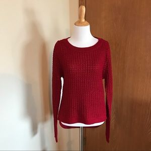 Ambiance Apparel Sweaters - NWT Ambiance Red Sweater