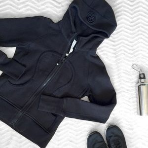 HP Lululemon Athletica Black Zip Up Hoodie