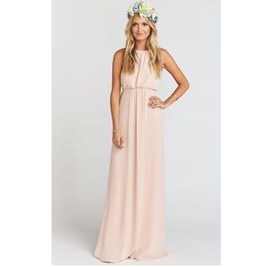 Show Me Your MuMu Dresses & Skirts - NWOT show me your mumu Amanda maxi dusty blush