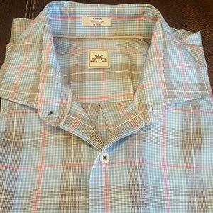 Peter Millar Other - Peter Millar Regular Fit Plaid Sport Shirt