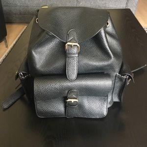 Nila Anthony Handbags - Nila Anthony Vegan Leather Backpack