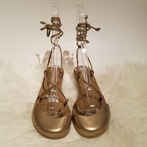 Melissa Shoes - Melissa Sugar Wrap Sandal with Kitten Heels
