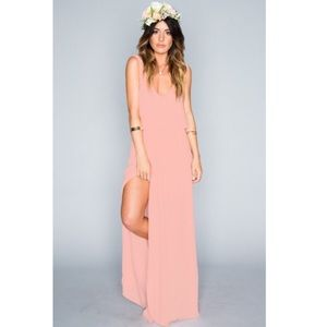 Show Me Your MuMu Dresses & Skirts - NWOT show me your mumu Kendall maxi frosty pink