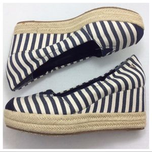 Victor Alfaro Striped Wedges