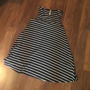 Stripped summer dress