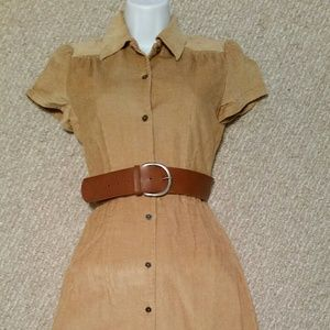 Banana Republic Short Sleeve Shirt Dress