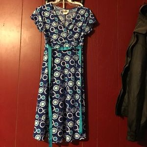 Rare Editions Other - Blue polka dot girls dress *final price*