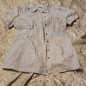 Motherhood Maternity Tops - !Final price! Button-down blouse