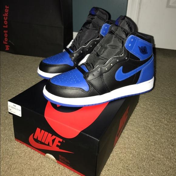 7945fde5eb7 Jordan Shoes | Air Retro 1 Royal Blue Ds Size 65 Mens | Poshmark