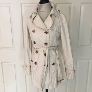 Final Price Banana Republic Italian Cotton Trench