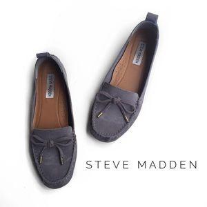 Steve Madden Shoes - • steve madden suede loafers •