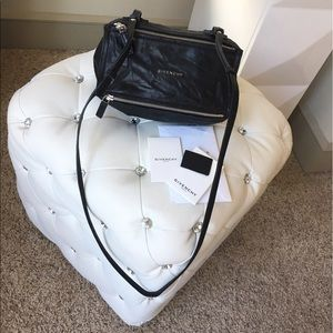 Givenchy Handbags - Givenchy Mini Pandora bag in washed leather
