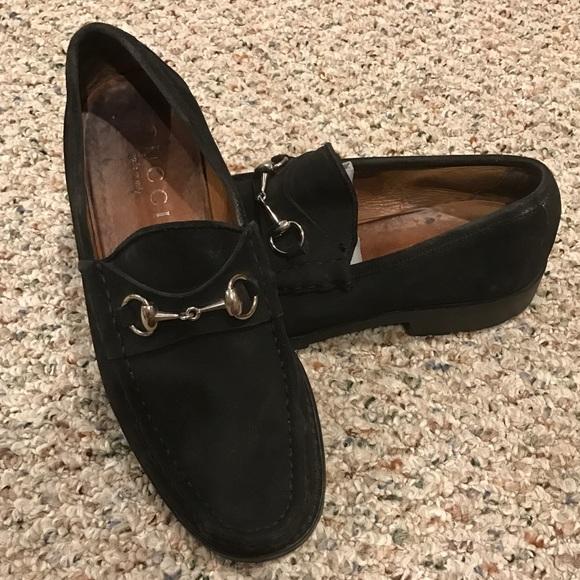 0fe6d4471cd Gucci Other - SALE! Men s Gucci Horsebit suede loafer