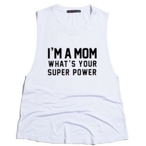 Urban Luxe Design Co. Tops - I'm a Mom Graphic Tank