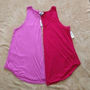 NWT Old Navy bundle Tank tops size XXL
