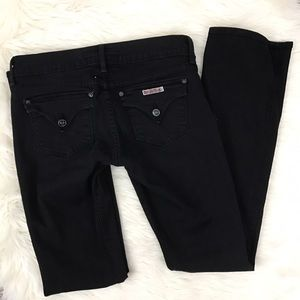 Hudson Jeans Denim - Hudson Dark Wash Black Bootcut Jeans Size 28