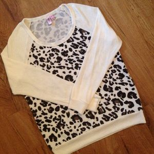 Dolled Up by Fang Tops - Leopard Print Blouse