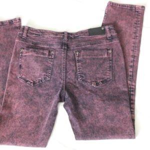 Liverpool Jeans Company Denim - Liverpool Jeans Co. Pink/Black Wash Skinny Jean