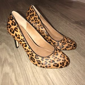 Corso Como Shoes - Corso Como Leopard Calf Hair Heels