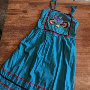 Beautiful Vintage Embroidered Dress
