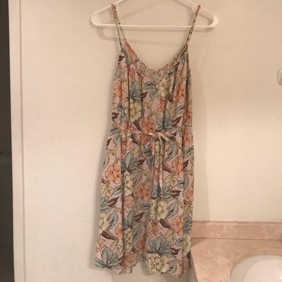 Roxy Hawaiian Floral Print Dress