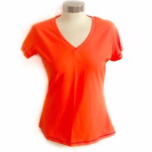 Bally Tops - Bally Total Fitness Neon Orange Tshirt