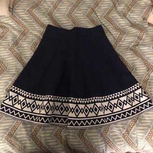 Francesca's Collections Dresses & Skirts - Francesca's navy skirt