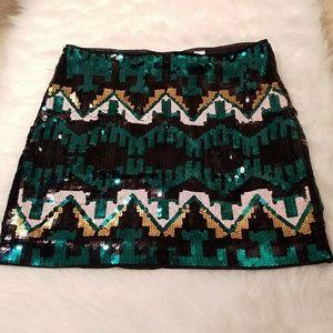 Divided Dresses & Skirts - H&M DIVIDED Sequin Mini Skirt