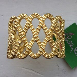 Lilly Pulitzer Jewelry - Lilly Pulitzer Lattice Cuff Bracelet