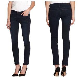 AG Adriano Goldschmied Denim - • AG cigarette stilt dark jeans size 31•