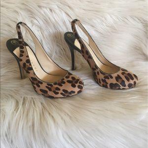 Ivanka Trump Shoes - Ivanka Trump Cheetah Slingback heels.  UEC