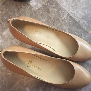 Ivanka Trump Shoes - Final price Tan low heel