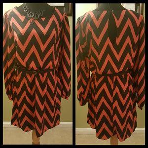 My Michelle Dresses & Skirts - 🆕Chevron Striped Dress
