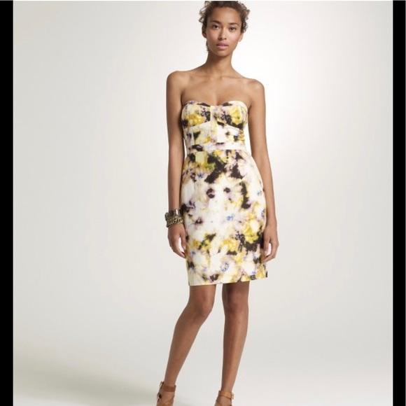 J. Crew Dresses & Skirts - J. Crew Fleurette Bustier Dress Sz. 6. CUTE