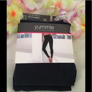 Yummie by Heather Thomson Pants - Yummie tummie  by Heather Thomson skinnier legging
