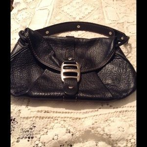 Hogan Handbags - Black leather pocketbook