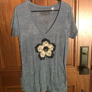 Threads 4 Thought Tops - Women's size Large Threads For Thought top
